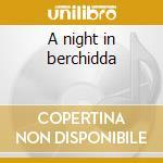 A night in berchidda cd musicale