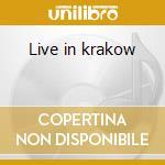 Live in krakow cd musicale di David Krakauer