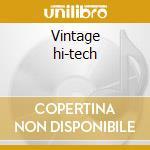 Vintage hi-tech cd musicale
