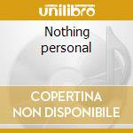 Nothing personal cd musicale di Matt Marque