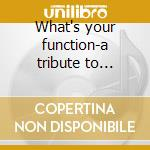 What's your function-a tribute to battiato cd musicale
