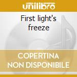 First light's freeze cd musicale di Castanets