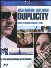 (Blu Ray Disk) Duplicity dvd