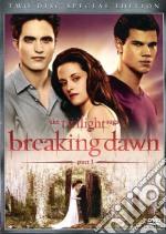 Breaking Dawn. Part 1. The Twilight Saga film in dvd di Bill Condon