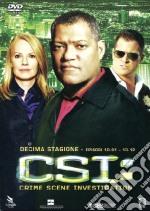 C.S.I. - Scena Del Crimine - Stagione 10 #01 (3 Dvd) film in dvd