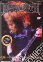Megadeth. Holy Wars Live film in dvd