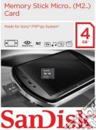 PSPGO SanDisk Memory Stick M2 4 Gb game acc