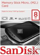 PSPGO SanDisk Memory Stick M2 8 Gb game acc