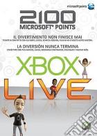 MICROSOFT X360 Live 2100pt Card game acc