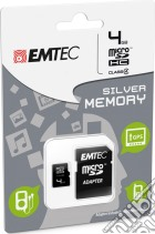 MicroSD + Adapter 4GB Silver (MP3-MP4) game acc