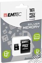 MicroSD + Adapter 16GB Silver (MP3-MP4) game acc