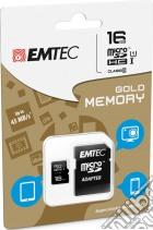 MicroSD + Adapter 16GB Gold(Smartph-Tab) game acc