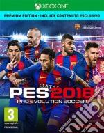Pro Evolution Soccer 2018 Premium Ed. game