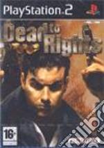 DEAD TO RIGHTS videogame di PS2