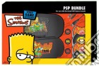 PSP Bundle The Simpsons Bart game acc
