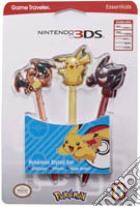 BB Stylus Pokemon 3 pezzi NEW 3DS XL game acc