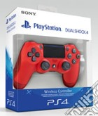 Sony Controller Dualshock 4 V2 Red PS4 game acc