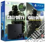 Playstation 4 Slim 1TB+COD I.W. LegacyEd game acc