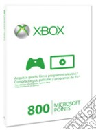 MICROSOFT X360 Live 800pt Card Sleeved game acc