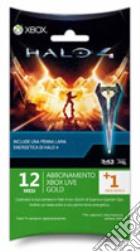 MICROSOFT X360 Live 12M+1+SwordPen Halo4 game acc