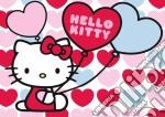 Puzzle 60 pz giant - hky hello kitty - mondo a cuori puzzle di RAVENSBURGER