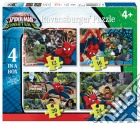 Ravensburger 06867 - Puzzle 4 In A Box - Ultimate Spider-Man - Sinister 6 giochi