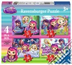 Ravensburger 06886 - Puzzle 4 In A Box - Little Charmers giochi