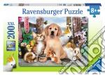 Puzzle super 200 pz - cuccioli della fattoria puzzle di RAVENSBURGER