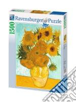 Ravensburger 16206 - Puzzle 1500 Pz - Van Gogh - Vaso Con Girasoli puzzle di Ravensburger