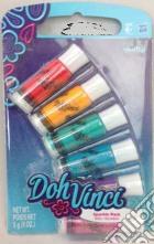 Doh Vinci - Ricarica Colori Sparkle 6 Tubetti giochi