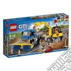Lego 60152 - City - Spazzatrice Ed Escavatore giochi