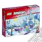 Lego 10736 - Juniors - Principesse Disney - Frozen - Il Castello Di Ghiaccio Di Elsa E Anna giochi