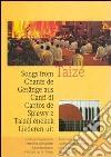 Canti di Taizé. Partiture per la chitarra libro