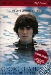 George Harrison: living in the material world. DVD. Con libro libro di Scorsese Martin