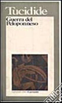 Guerra del Peloponneso libro di Tucidide