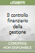 Il controllo finanziario della gestione libro