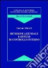 Revisione aziendale e sistemi di controllo interno libro