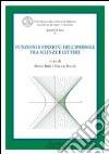 Funzioni e finzioni dell'iperbole tra scienze e lettere. Atti del Convegno libro
