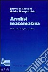 Analisi matematica. Vol. 2: Funzioni di più variabili libro