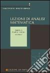 Lezioni di analisi matematica. Vol. 1: Analisi «Zero» libro