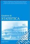 Quaderni di statistica (2005). Vol. 6 libro