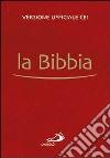 La Bibbia pocket. Versione ufficiale della CEI libro