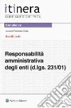 La responsabilità amministrativa degli enti (d.lgs. 231/01) libro