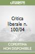 Critica liberale n. 100/04 libro