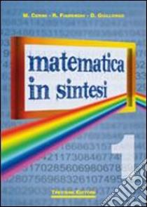 Matematica in sintesi. Per le Scuole superiori libro di Cerini M. Angela, Fiamenghi Raul, Giallongo Donatella