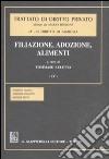 Trattato di diritto privato. Il diritto di famiglia. Vol. 4/4: Filiazione, adozione, alimenti libro