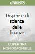 Dispense di scienza delle finanze (2) libro