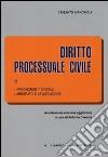Diritto processuale civile (3) libro