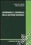 Governance e controllo della gestione aziendale libro