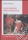 Istituzioni di diritto romano libro